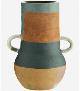 Vase Terracotta Amphore L - 20,5x26,5 - Madam Stoltz