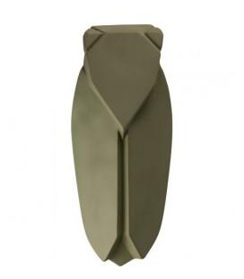 Muette Vert Olive - Cigale en céramique - Monochromic