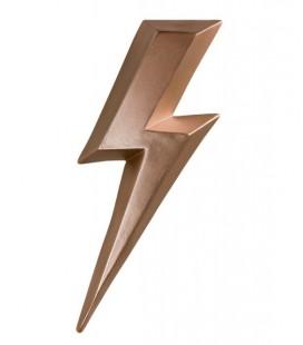 Ziggy Songe Rosé - éclair en céramique - Monochromic