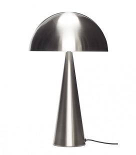 Lampe Champignon Nickel GM - 30x51 - Hubsch