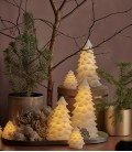 Carla Tree GM - Sapin de Noël LED Blanc - avec Cire - 23 cm - Sirius