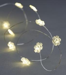 Nynne - Guirlande Flocon - 40 LED - 3,90 m - SIRIUS