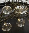 Millie - Guirlande Verre - 8 LED - Transparente - Sirius