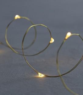 Knirke 40 L - guirlande transparente et dorée - Sirius