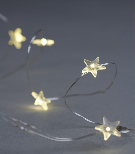 Trille Star - 40 L - Guirlande LED étoile - Sirius