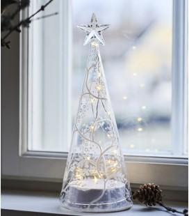 Cozy Tree L - Sapin LED en verre - 26 cm  - Sirius