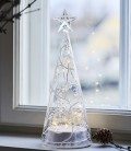 Cozy Tree L - Sapin LED en verre - 26 cm  - Sirius