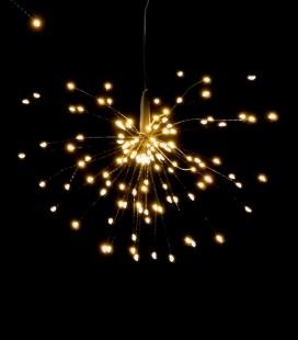 Glitter - Etoile guirlande LED 30 cm - Pomax