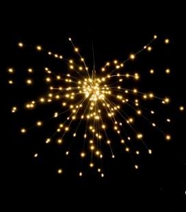 Glitter - Etoile guirlande LED - 50 cm - Pomax