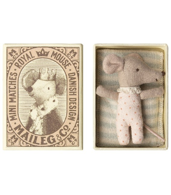 Bébé Souris - Fille - avec Boîte - Maileg