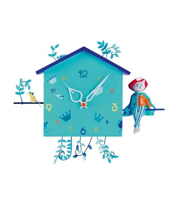Horloge Le Chat Botté – L'Oiseau Bateau
