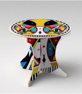Table Amazonia en carton alvéolaire – Christelle Gossart