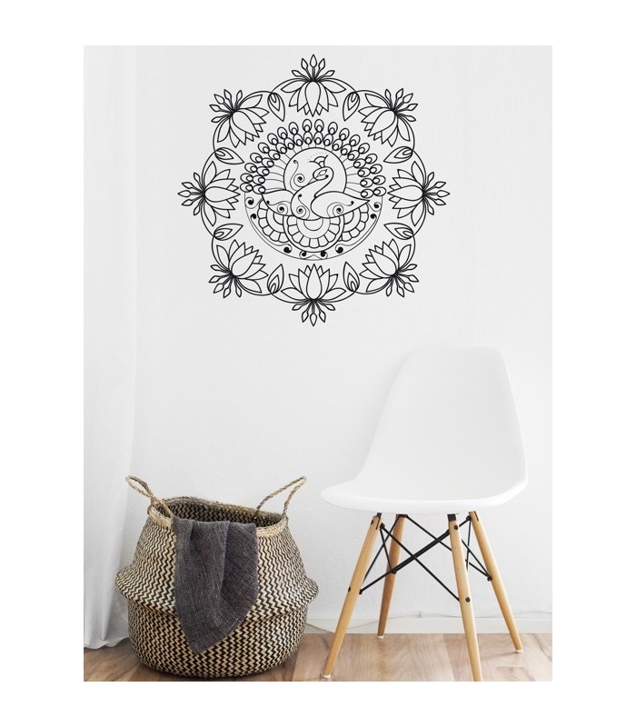 mural mandala celeste s cosmology ae lefton untold people living mural mandala ornament. Black Bedroom Furniture Sets. Home Design Ideas