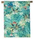 Fouta Drap de Bain - Kikoy Tropic Paon 90x170 - Harmony