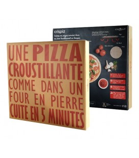 CRISPIZ – Pierre à pizza - Cookut