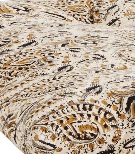 Matelas Sable Curry Noir en coton, 70x180 – Madam Stoltz