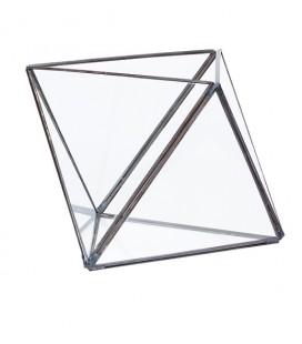 Terrarium à facettes - Métal & Verre - Hubsch
