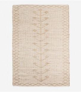 Tapis Jonc de Mer - Naturel/Blanc - 120x180 - Madam Stoltz