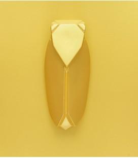 Muette Or - Grand modèle - Cigale en céramique - Monochromic