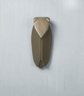 Muette  Bronze - Grand modèle - Cigale en céramique - Monochromic