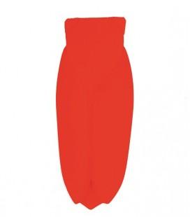 Muette Rouge fluo - Grand modèle - Cigale en céramique - Monochromic