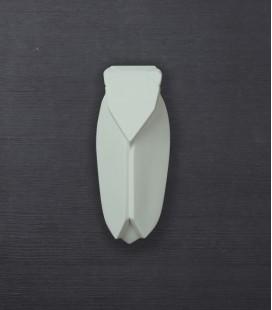 Muette Gris vert - Grand modèle - Cigale en céramique - Monochromic