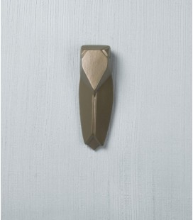 Muette Bronze - Petite Cigale en céramique - Monochromic
