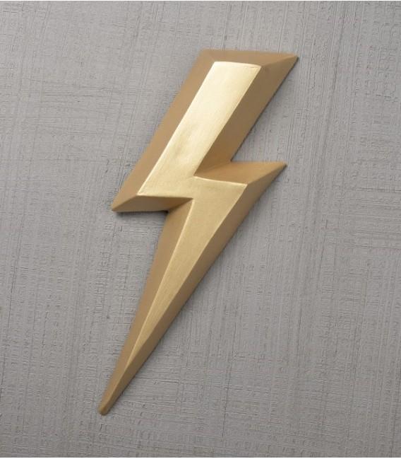 Ziggy Or - éclair en céramique - Monochromic