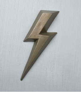 Ziggy Bronze - éclair en céramique - Monochromic