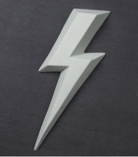 Ziggy Gris Vert - éclair en céramique - Monochromic