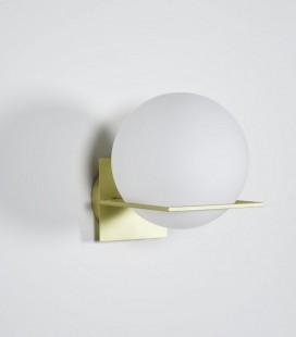Applique GIN - Globe opaline - D: 20 x H: 25 - ENO STUDIO