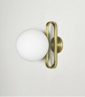 Applique CIME - Or & Globe opaline - D: 20 x H: 30 - ENO STUDIO
