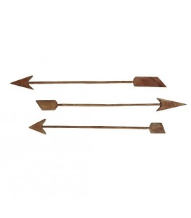 Set de 3 flèches en bois Madam Stoltz