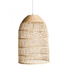 Suspension Rotin naturel - D : 41,5 x 58 - SIMLA