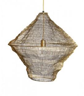 Suspension laiton filet de pêche - 60x60