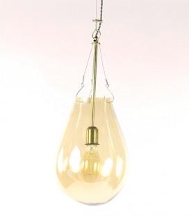 Bullia Or - Suspension en verre soufflé or - 25x53 - Pomax