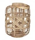 Lanterne en Bambou naturel GM  - 31x61 cm - Hubsch