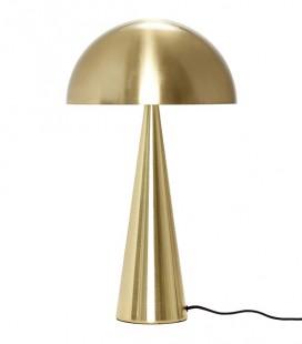 Lampe champignon haute - Laiton – Hübsch
